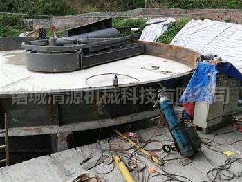 浅层气浮机安zhuang现场
