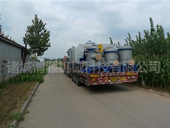 发往si川lu州造纸制浆zhengtao设备