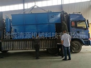 发往新疆塔城的平流式溶气气浮机