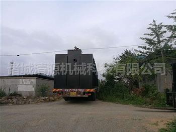 发往yun南红河的食pin污水处理设备