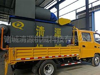 发往贵州六pan水的养殖污水处理设bei