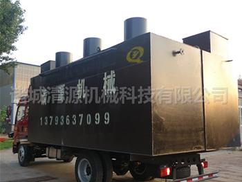 发往辽宁沈阳小区污水处理设备