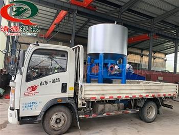 发往yun南客户的造纸设备gao浓水力碎浆机