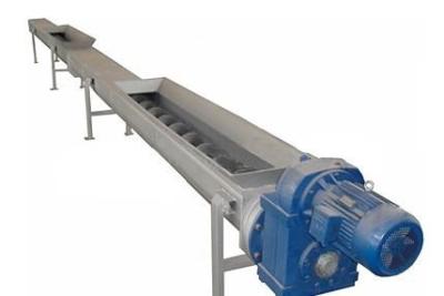 无轴螺旋输送机 拦污除砂输送设备 产品展示